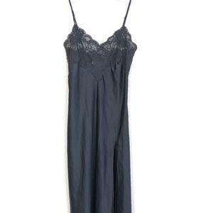 Victoria's Secret Womens Satin Maxi Slip Dress CFK